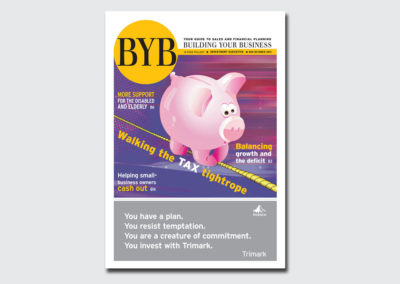 BYB Newspaper Pullout Cover 2011