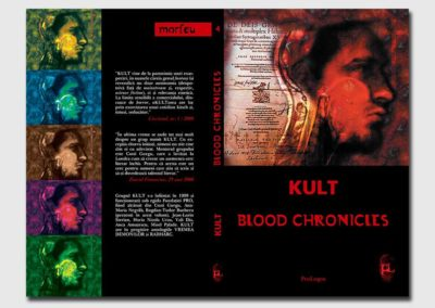 """Blood Chronicles"" Book Cover"