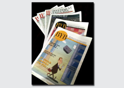 Financial Newspapers Covers