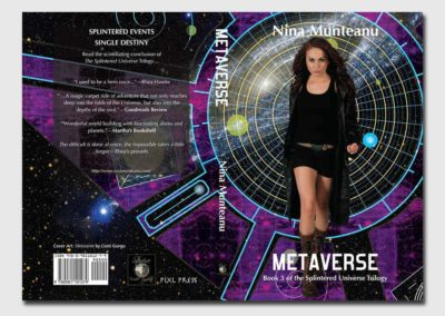 """Metaverse"" Book Cover"
